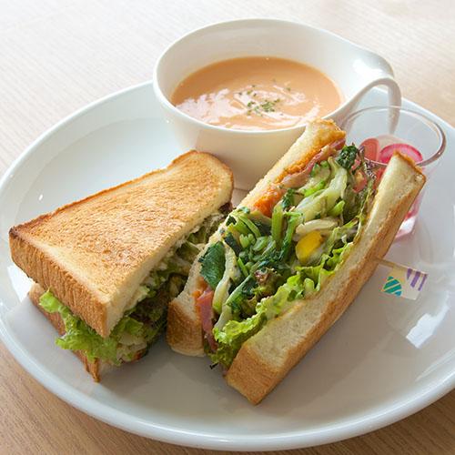 ホットサンドスーププレート画像