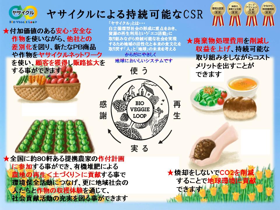 持続可能なCSR説明画像